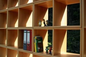 Aktenregal Büromöbel aus Massivholz Möbel Tischlerei Dresden Systemmöbel Buche