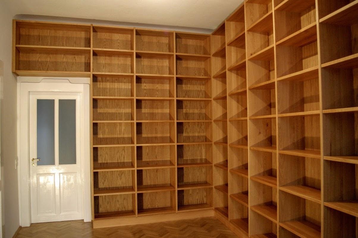 Bibliothek Aus Eiche Sinnesmagnet