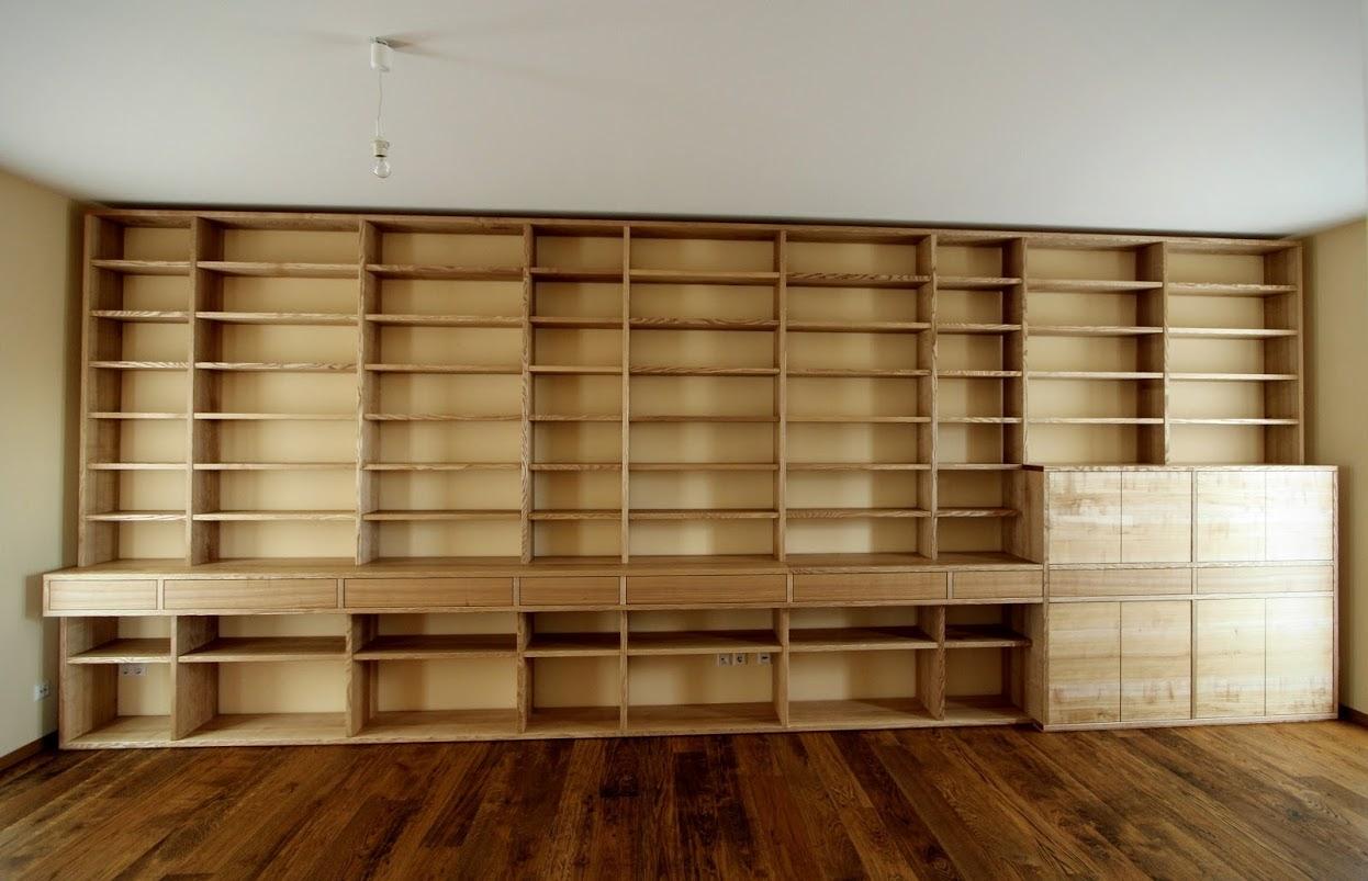 Bibliotheksregal Bibliotheksmo¦êbel Massivholz Esche - Sinnesmagnet