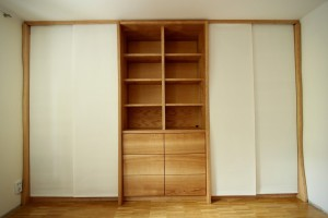 Regalwand Bücherregal Aktenschrank Massivholz Tischlerei Dresden