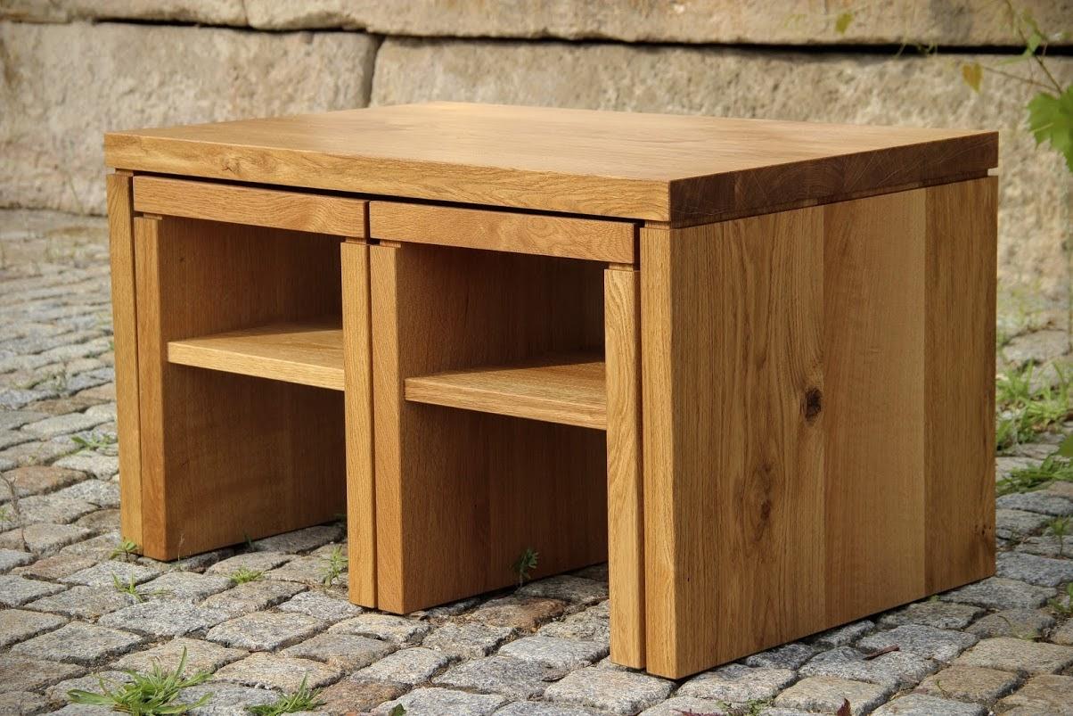 Couchtisch Tisch Hocker Und Stuhl Ihr Mobel Aus Massivholz In Der