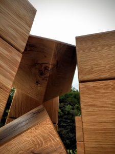 Spiegel Displayer Holz Kuben aus Eiche Deko Würfel Ladeneinrichtung Massivholz Möbel Tischlerei Dresden
