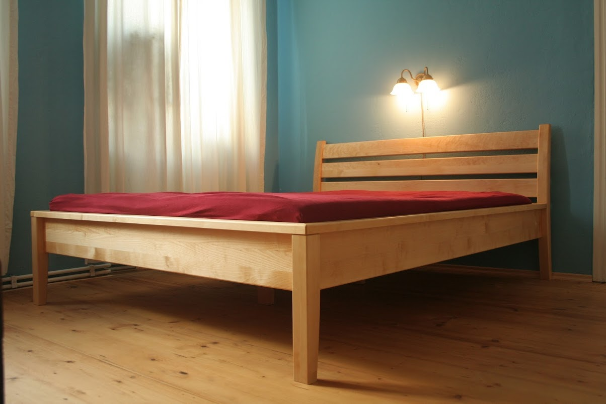 Bett aus Birke - Sinnesmagnet