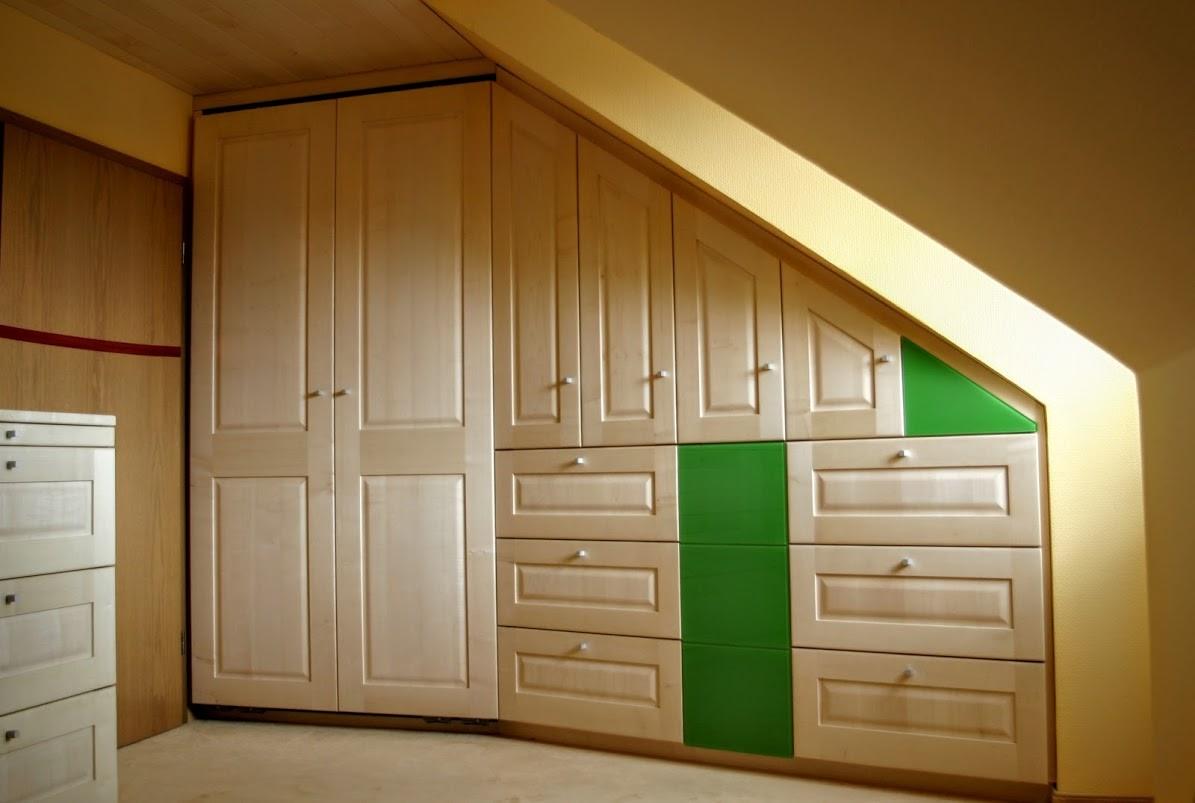 Einbauschrank Schlafzimmer Ahorn Massivholz - Sinnesmagnet