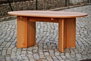 Esstisch oval Massivholz Möbel Dresden