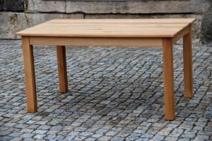 Individueller Gartentisch Tischlerei Dresden maßgefertigter Ausziehtisch Garten Möbel Tischverlängerung