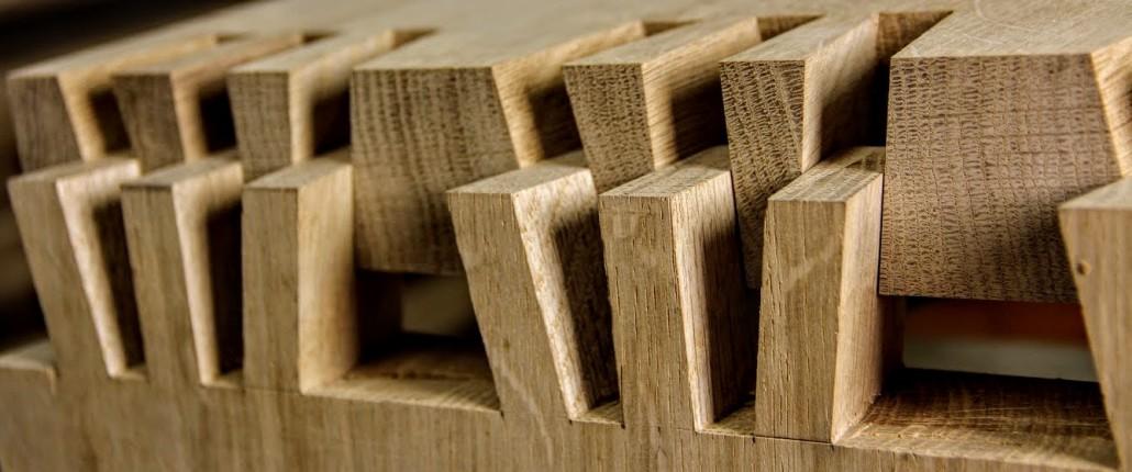 Japanische Teufelszinkung Schwalbenschwanz Holzverbindung