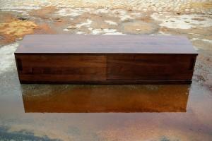 Lowboard Sideboard Massivholzmöbel Tischlerei Dresden Stereoanlage HiFi-Möbel