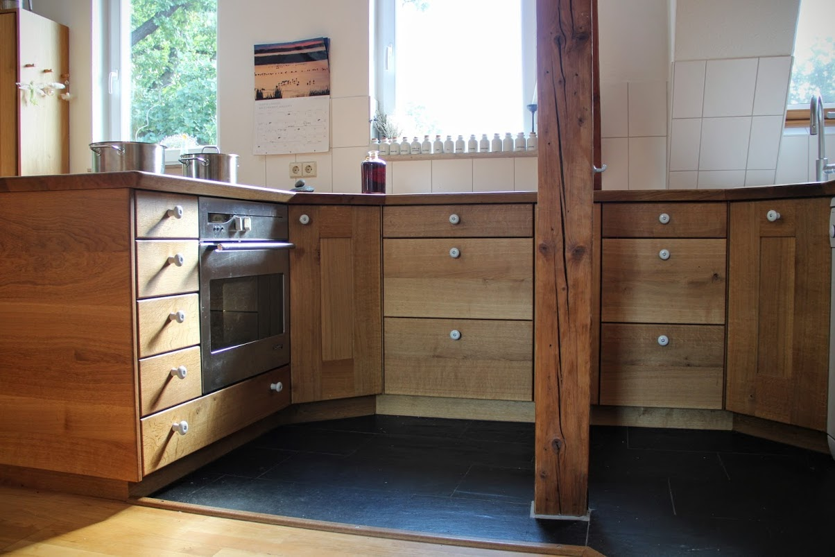 Massivholzkuche gebraucht for Kuchen mobel gebraucht