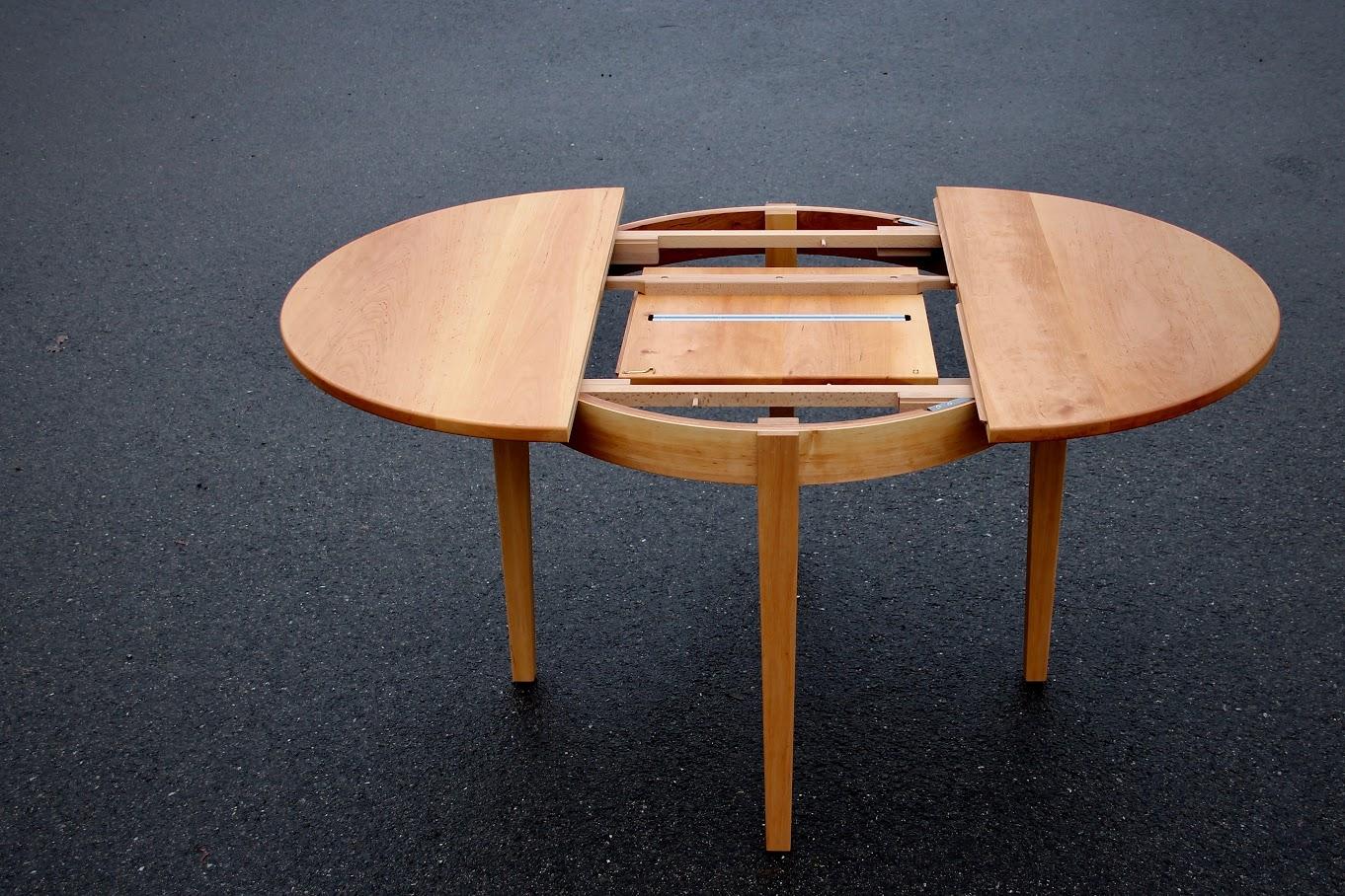 Runder Tisch Mit Integrierter Verlängerung Sinnesmagnet