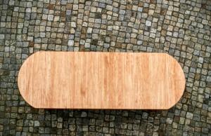 Runder Tisch Maßgefertigt Massivholztisch oval verlängerbar ausziehbar Tisch Möbel Tischlerei Dresden