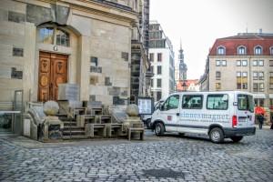 Hocker Frauenkirche Dresden Möbelbau Tischlerei Sinnesmagnet