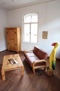 Massivholz Sofa Couchtisch Schrank Wildeiche Tischlerei Dresden Holz Möbel