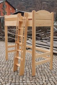 Aufstieg Massivholz Hochbett Etagenbett Kinder Spiel Zimmer Möbel Tischlerei Dresden Stockbett Schlafzimmer