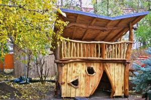 Kindergarten Möbel Tischlerei Sinnesmagnet Baumhaus Kinder Spielplatz Haus Robinie Dresden