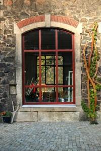 Weinspalier Robinie Garten Möbel Massivholz Rankhilfe