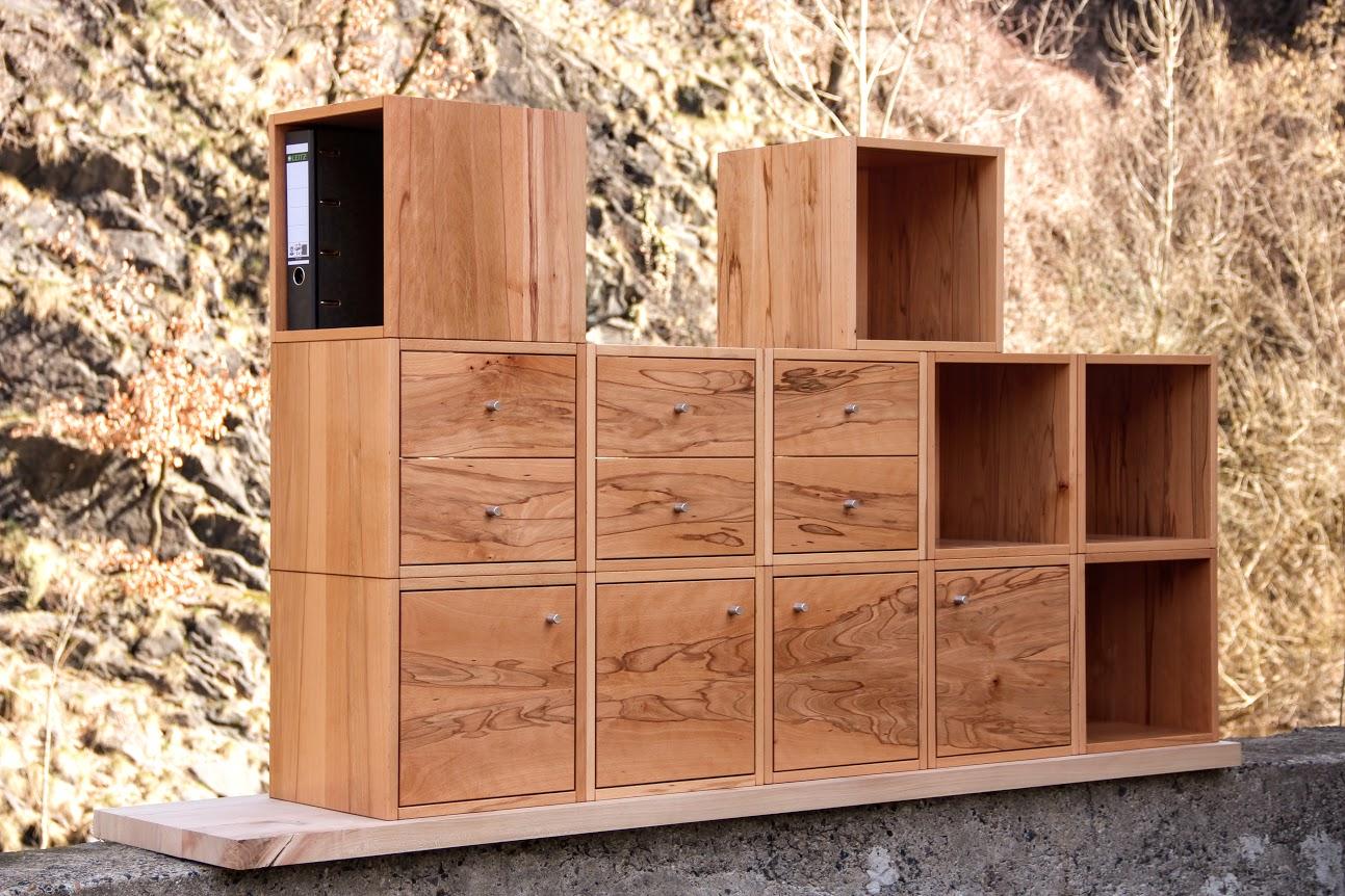 Büromöbel Vollholz - Design