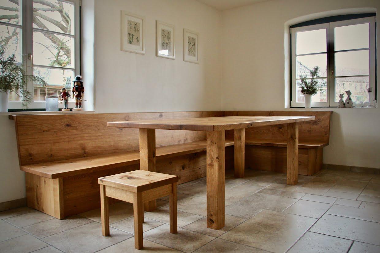Tisch Und Eckbank Aus Wildeiche Sinnesmagnet