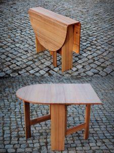 Tischverlängerung rund Massivholz Möbel Probst und Consorten Dresden