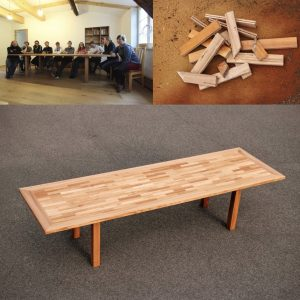 Konferenztisch aus Rüster Probst und Consorten Dresden