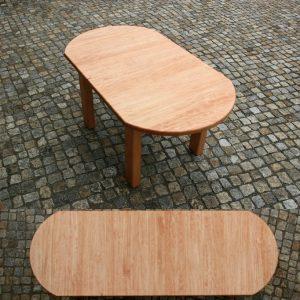 Tisch mit Verlängerung Buche massiv